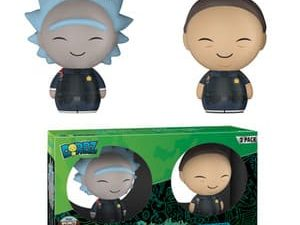 DORBZ - Rick and Morty Specialty Series - Police Rick & Police Morty Two-Pack