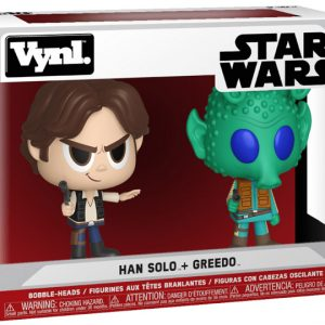 VYNL - Star Wars - Han Solo + Greedo