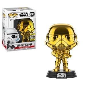 POP - Star Wars - Chewbacca Gold Chrome (Galactic Convention)