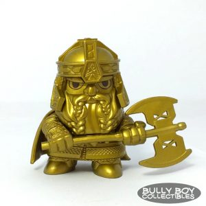 Mystery Mini - Lord of the Rings - Gimlii Gold 1:12 (Barnes and Noble)