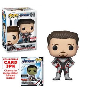 POP - Avengers: Endgame - Tony Stark with Collector Cards (Entertainment Earth)